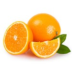Oranges rich in vitamin C
