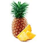 Pineapples rich in vitamin C