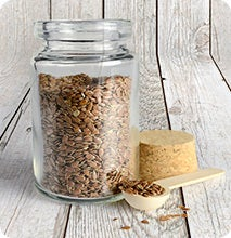 storing whole flax seeds