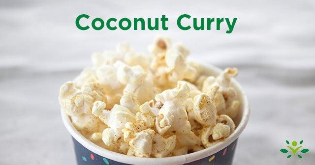 coconut curry popcorn