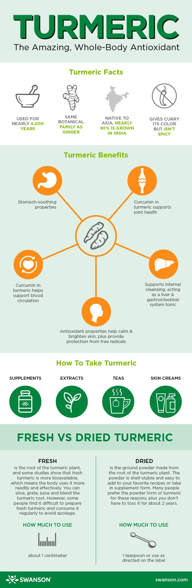 What is Turmeric? - infographic facts about turmeric and turmeric health benefits