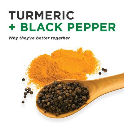 Turmeric & Black Pepper: Why They're Better Together