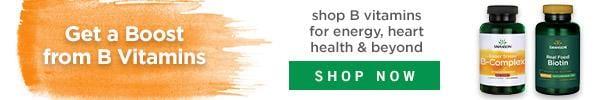 Shop B-complex vitamins for energy, heart health & beyond.