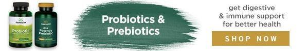 Shop probiotics & prebiotics for better digestion.
