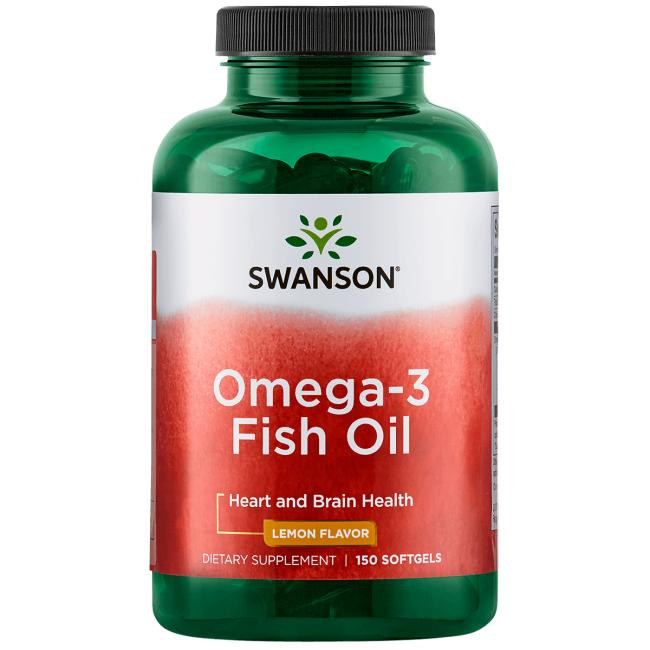 Omega-3 Fish Oil for Stress, Heart, and Brain Health