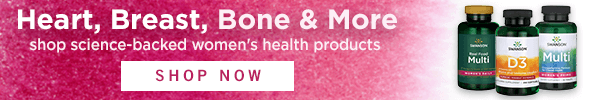 Heart, Breast, Bone & More—shop science-backed women's health products.