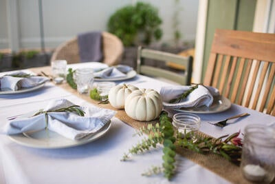 Five Tips for a Stress-Free, Healthy Thanksgiving