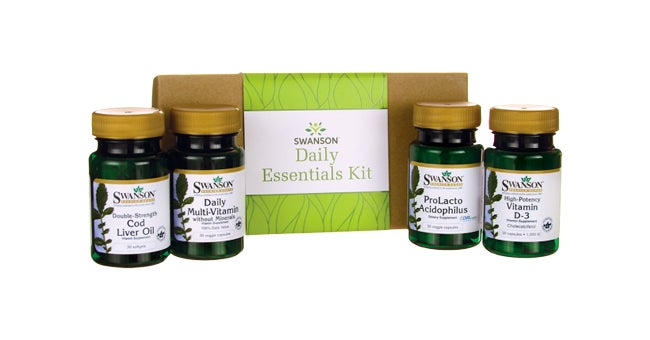 Swanson Health Daily Essentials Supplement Kit