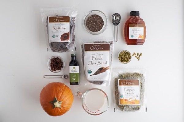 Swanson Autumn Harvest Chia Seeds Pudding Ingredients