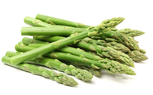 asparagus rich in vitamin k2