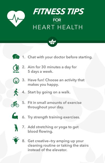 8 Fitness Tips for Heart Health