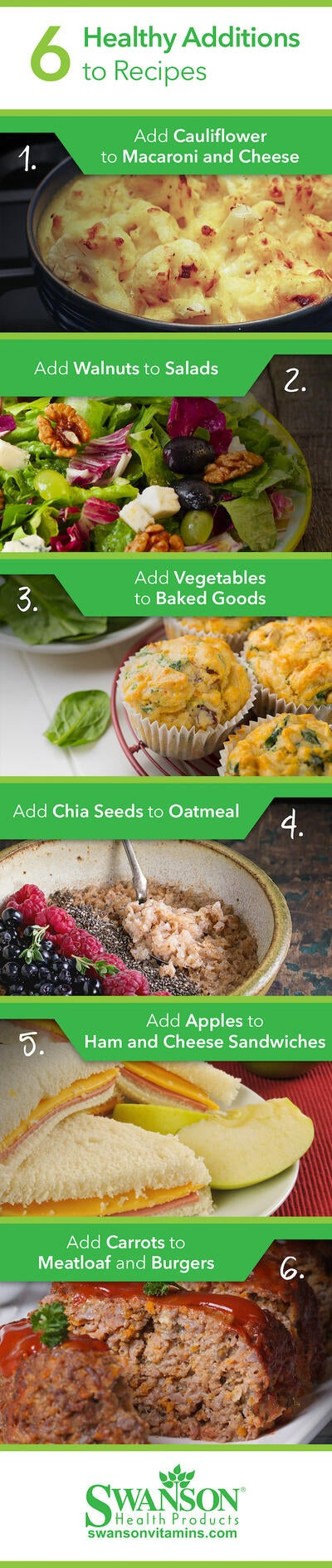 Add 1 Extra Ingredient to Make These Recipes Healthier