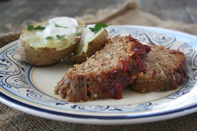 Add carrots to meatloaf and burgers