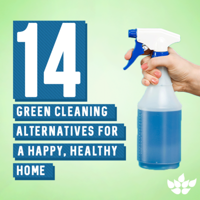 14 Green Cleaning Alternatives for a Happy, Healthy Home