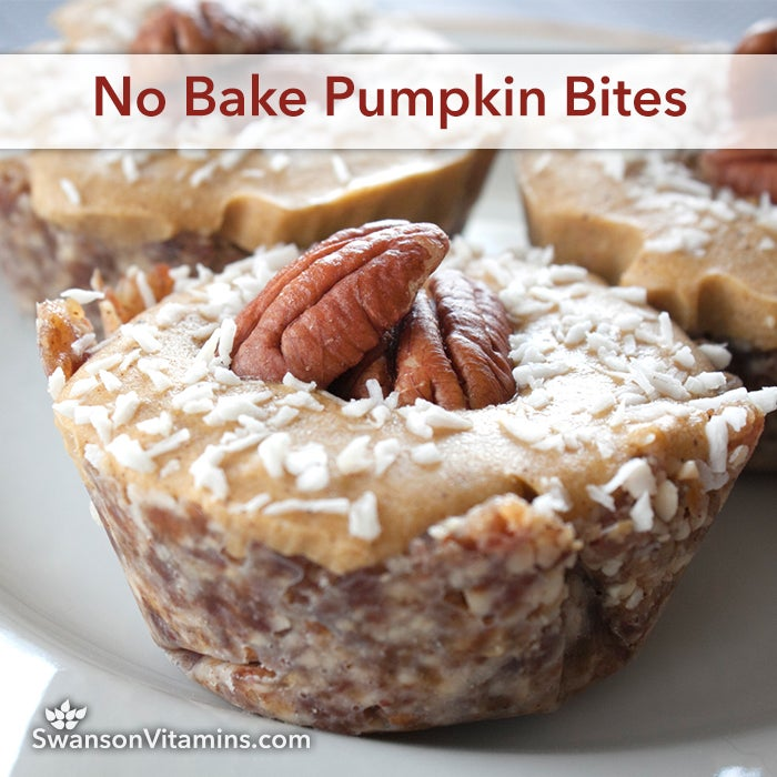 no bake pumpkin bites
