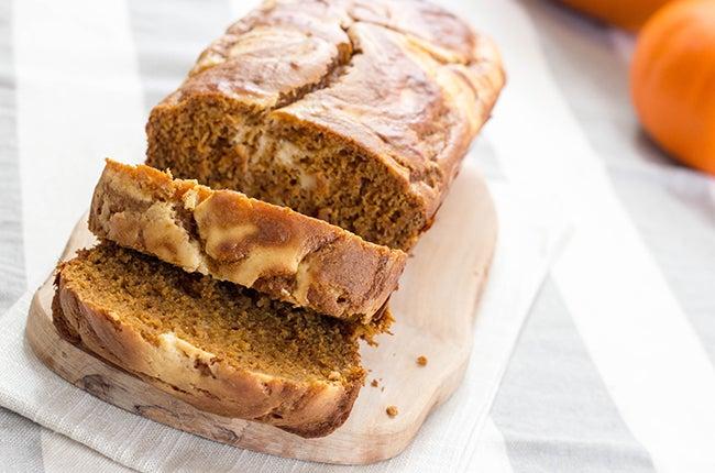 pumpkin and cream bread