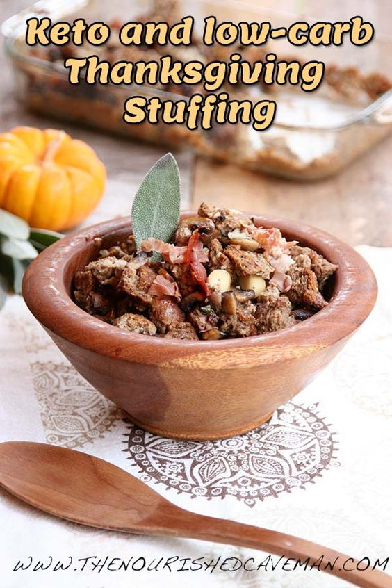 Keto and Low Carb Stuffing Recipe