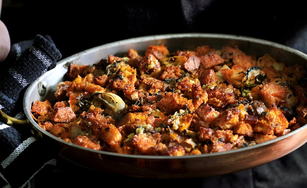 Oyster and Kimchi Stuffing (Dressing) Recipe