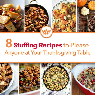 8 Stuffing Recipes to Please Anyone at Your Thanksgiving Table