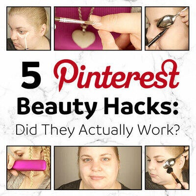 5 Pinterest Beauty Hacks: Did They Actually Work?