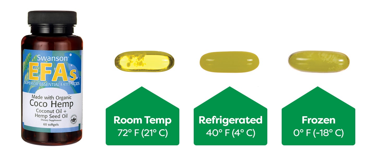 Softgels with oil in them can turn cloudy when stored in colder temperatures.
