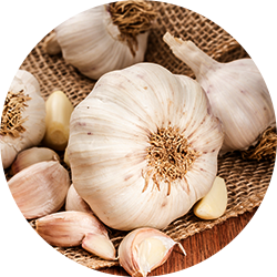Garlic and healthy skin