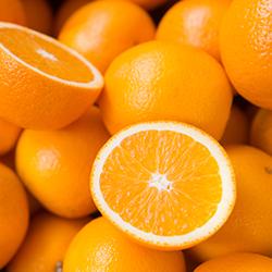 eating oranges and skin health