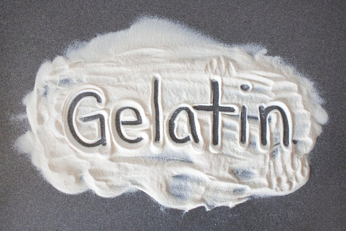 gelatin for Recipe Thickener