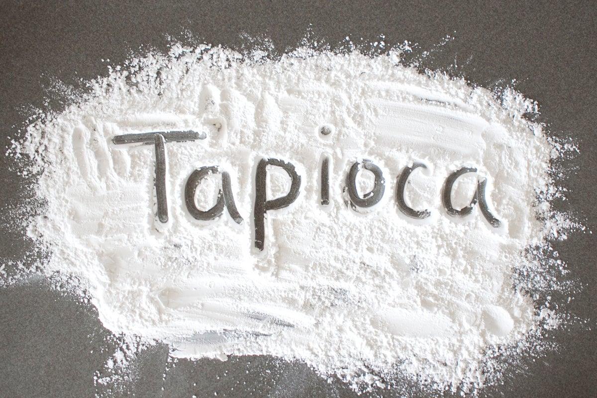 tapioca for Recipe Thickener