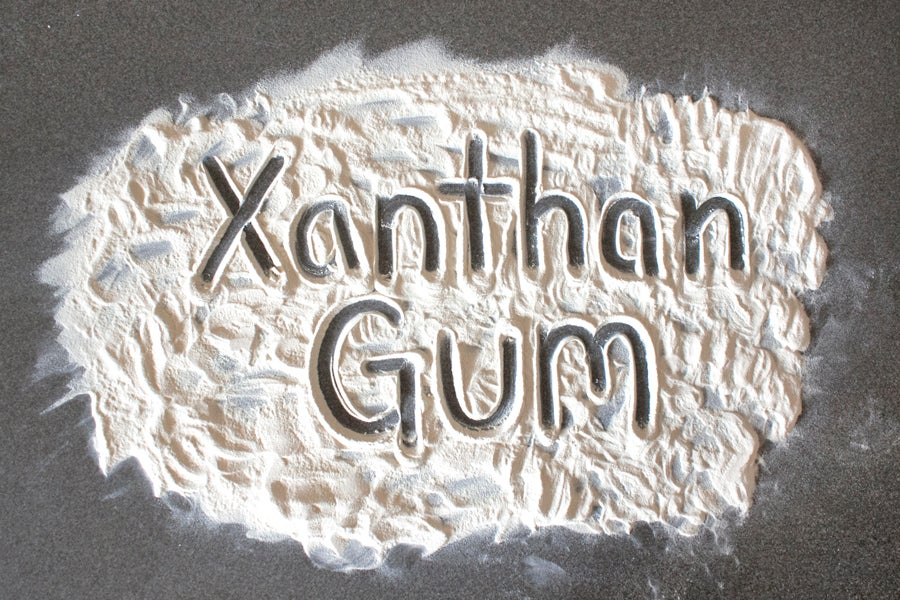 xanthan gum for Recipe Thickener