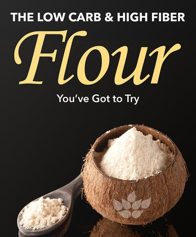 The Low Carb & High Fiber Flour You've Got to Try