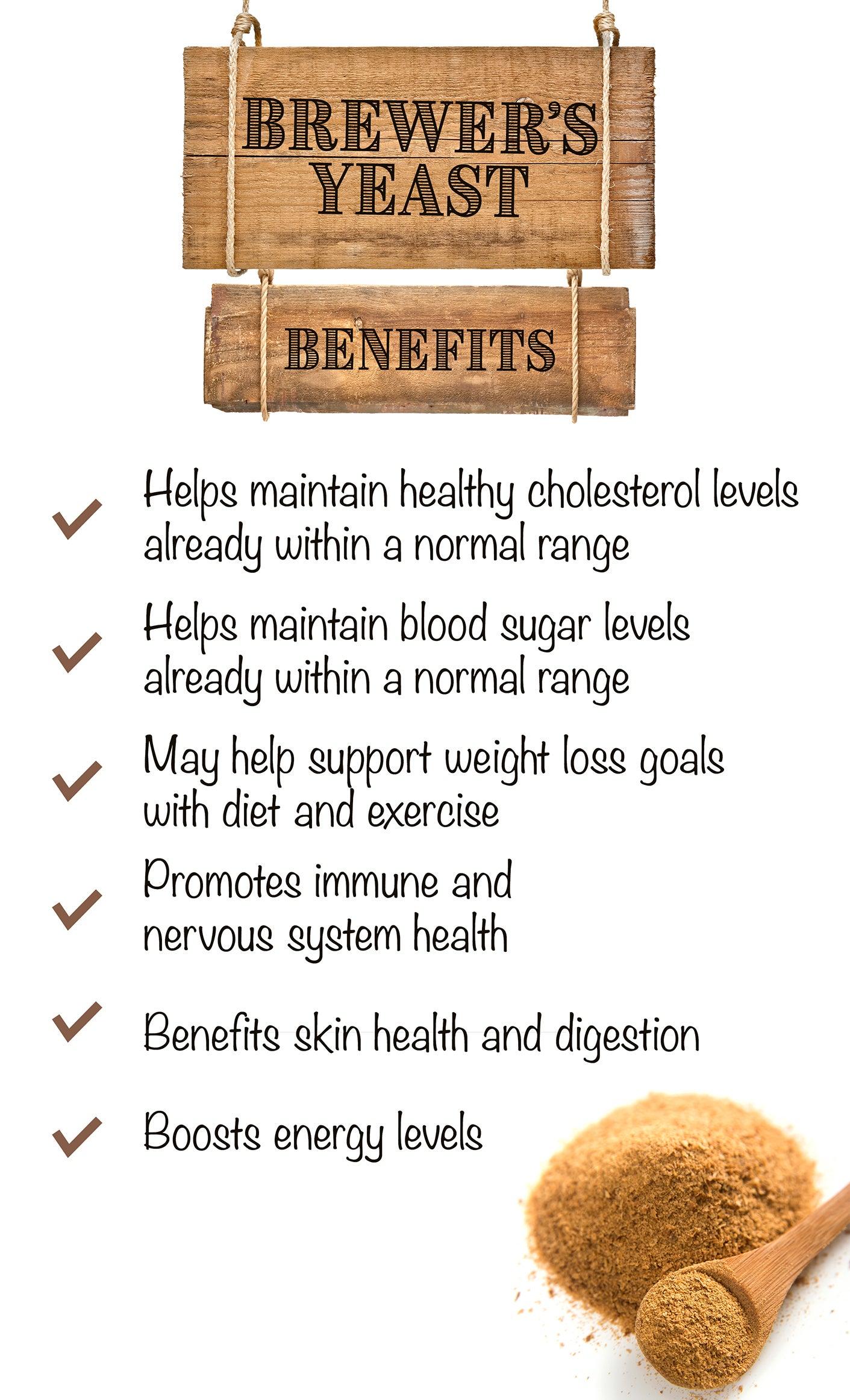 Brewer's Yeast Benefits