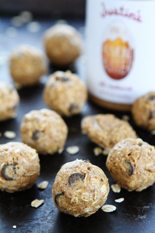 Almond Butter Oat Balls