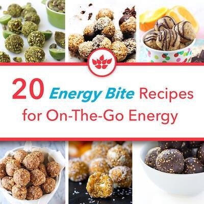 20 Energy Bites Recipes for On-The-Go Energy