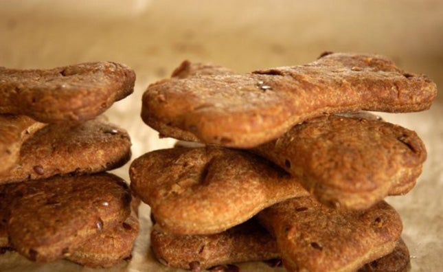 Flax Seed Dog Biscuits