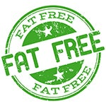 fat free foods have up to 2x the sugar compared to the regular version