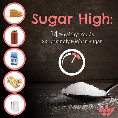 Sugar High: 14 'Healthy' Foods Surprisingly High in Sugar