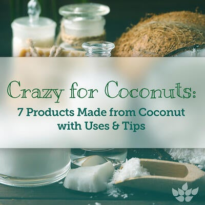 Top 7 Health Products Made from Coconut with Uses & Tips