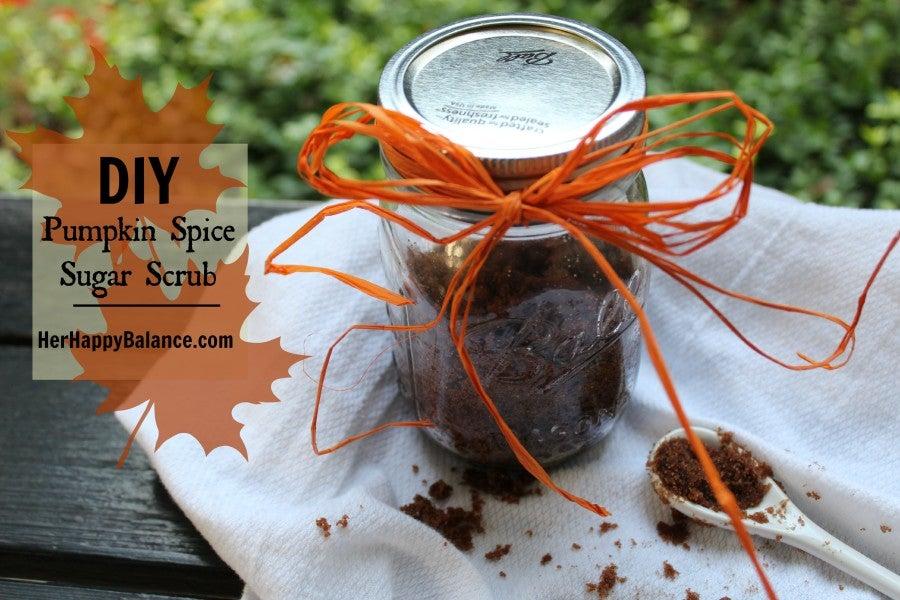 DIY Pumpkin Spice Sugar Scrub – Her Happy Balance