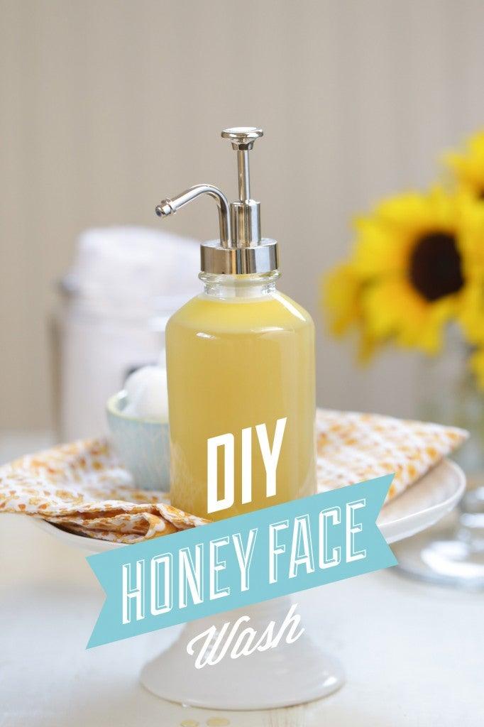 DIY Honey Face Wash – Live Simply