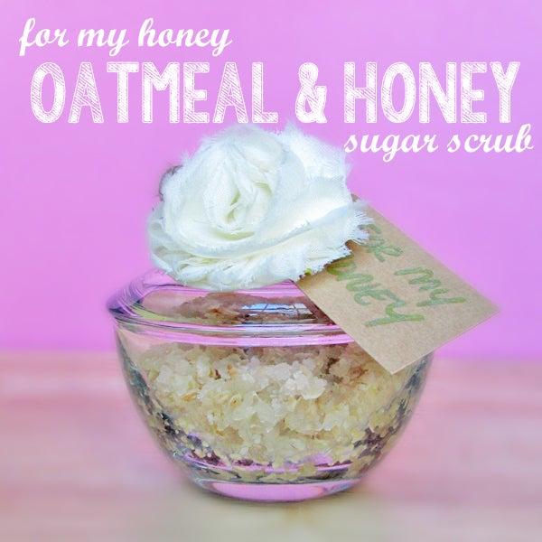 Oatmeal & Honey Homemade Sugar Scrub – Story of Five