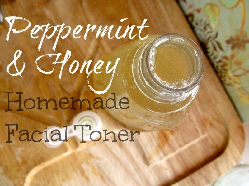 Peppermint & Honey Facial Toner – Mommypotamus