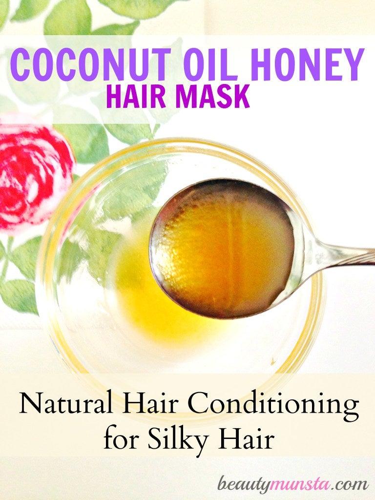 Coconut Oil Honey Hair Mask – beautymunsta