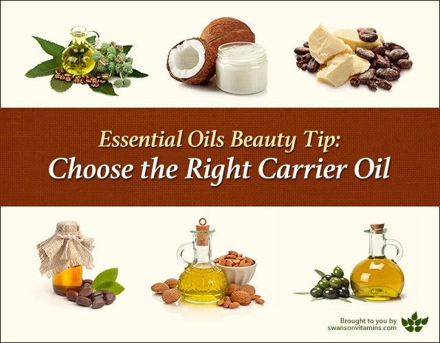 best carrier oils for essential oils