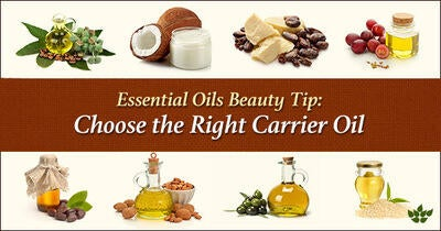 Essential Oils Beauty Tip: Choose the Right Carrier Oil
