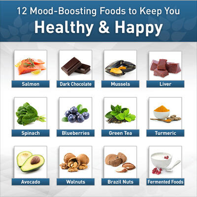 Boost Your Mood Instantly with These 12 Foods
