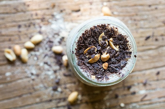 PB2 recipe for Banana Chip Smoothie