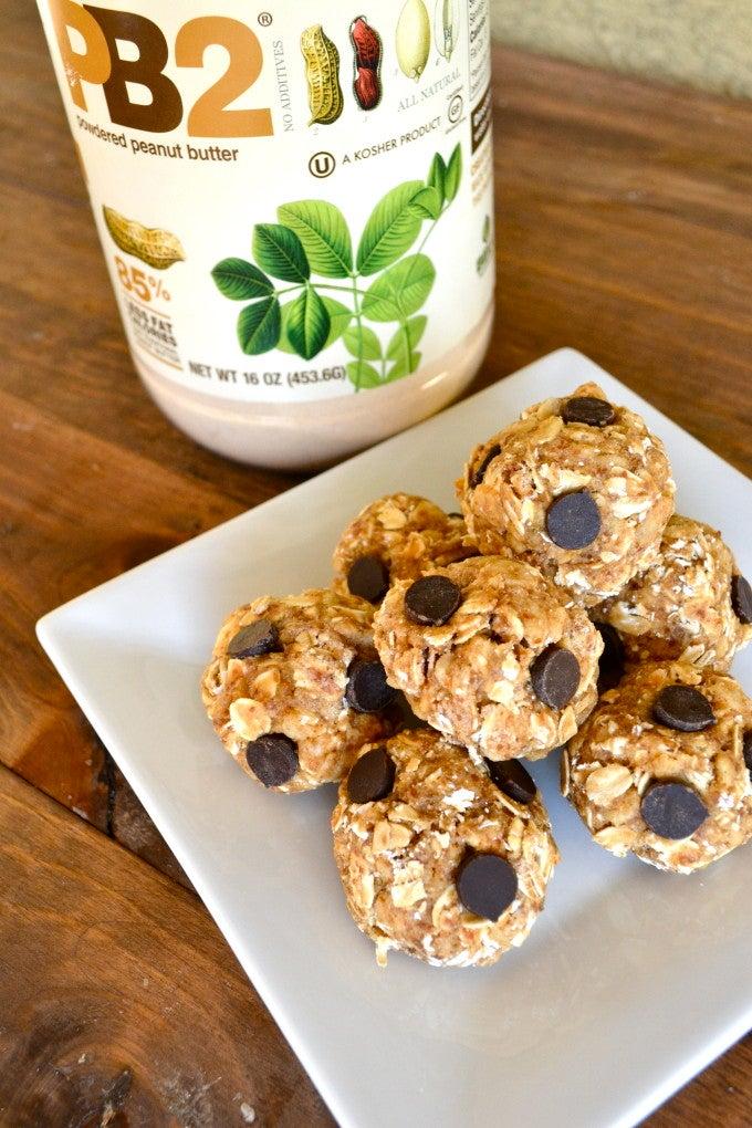 PB2 Recipe Protein Balls