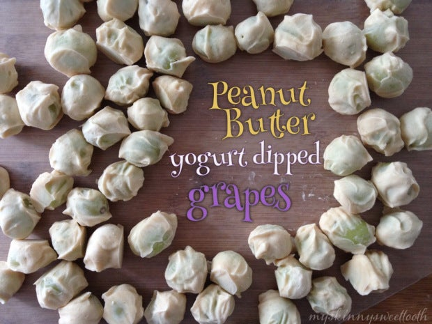 pb2 yogurt covered grapes