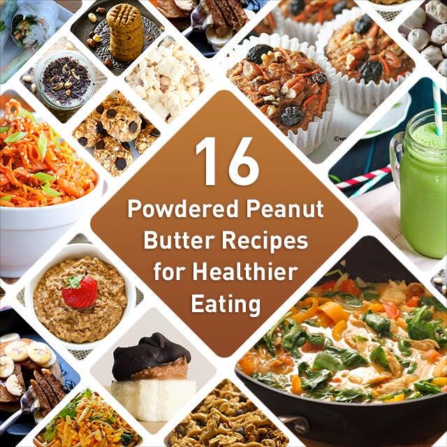 best powdered peanut butter recipes - pb2 recipes